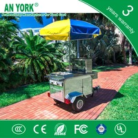 HD-80B salad food scooter gas tricycle food scooter petrol food scooter with 3 wheels