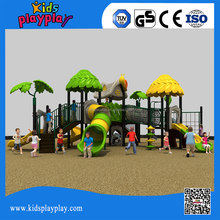 Rubber-coating outdoor old school outdoor playground equipment for sale