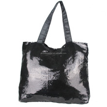 Factory direct supply vintage sequins glittering handbag Fashion tote bag with low price