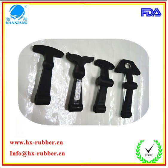 T handle rubber plastic toggle/puller latch