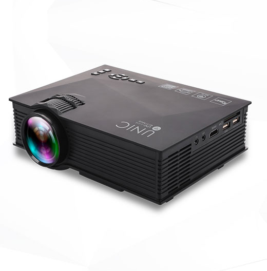 Factory UNIC UC46 Wireless wifi home theater portable dvd overhead led projectors