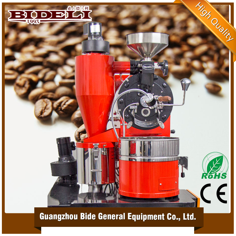 Direct factory manufacture Stainless steel Electric & Gas type 1kg coffee roasting machine