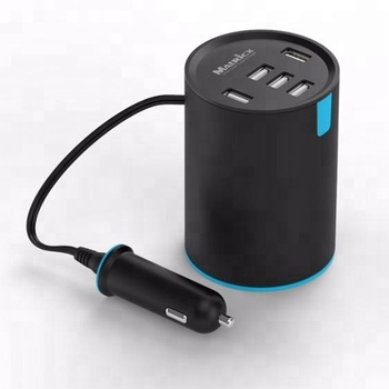 5 port usb car charger oem
