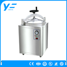 30L Vertical Stainless Steel Medical Sterilization Equipment Hospital Autoclave With Hand Wheel