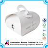 China Supplier Custom Unique Personalized Cake Box with Handle