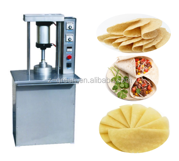 Commerical tortilla press making machine/pizza dough presser
