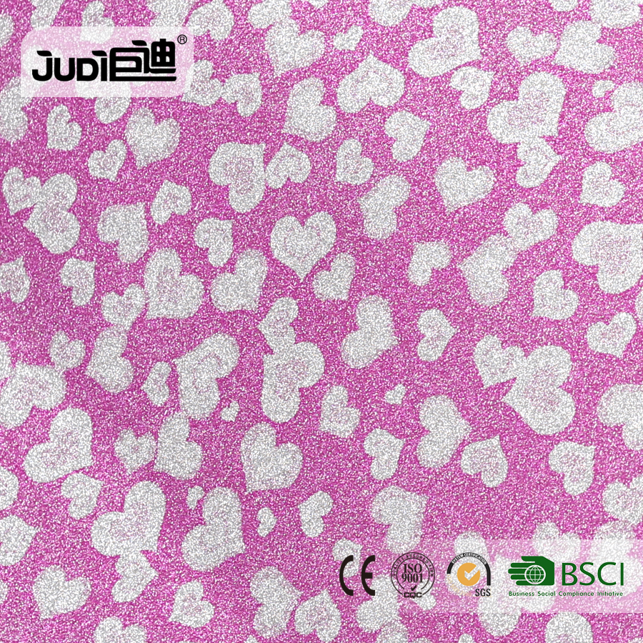 Top supplier best price PP self-adhesive glitter contact paper