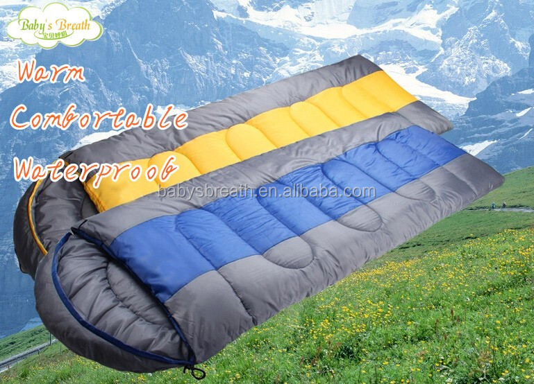 BSB450 2015 best new hot sale adult mummy style sleeping bag, cocoon shape sleeping bag