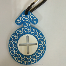 2D soft PVC Key Chain, Keyring , Rubber Key Holder