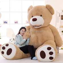 EN71 CE TUV certificate giant 300cm teddy bear plush stuffy toy