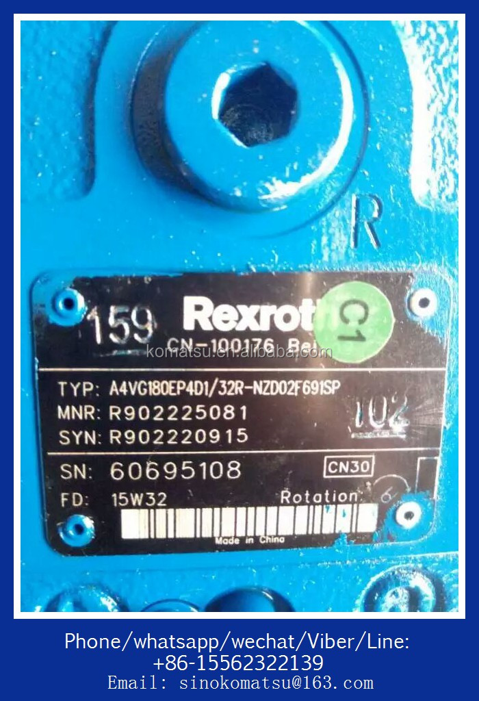 HEAVY CONSTRUCTION MACHINE HYDRAULIC PUMP SPARE PARTS OF REXROTH PUMP A2F28