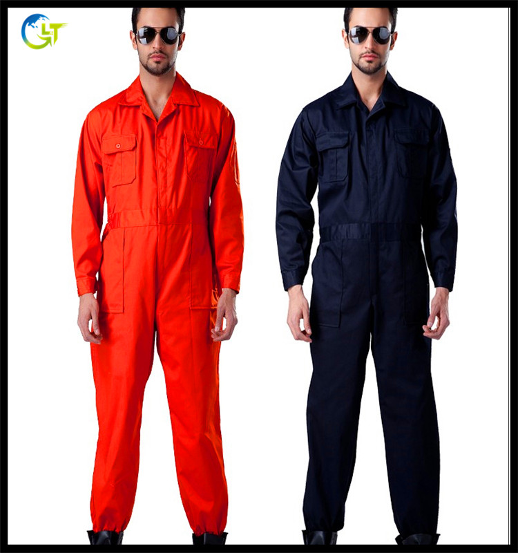 customized overalls and coveralls workwear safety fireproof and anti-static safety protective uniforms