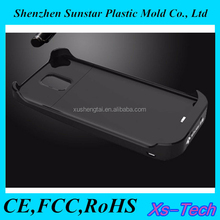 Solar energy mobile battery case for samsung galaxy s duos s7562