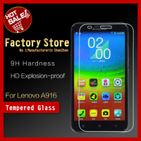 Factory store Ultra Thin Anti Scratch Premium Tempered Glass Screen Protector For Lenovo A916