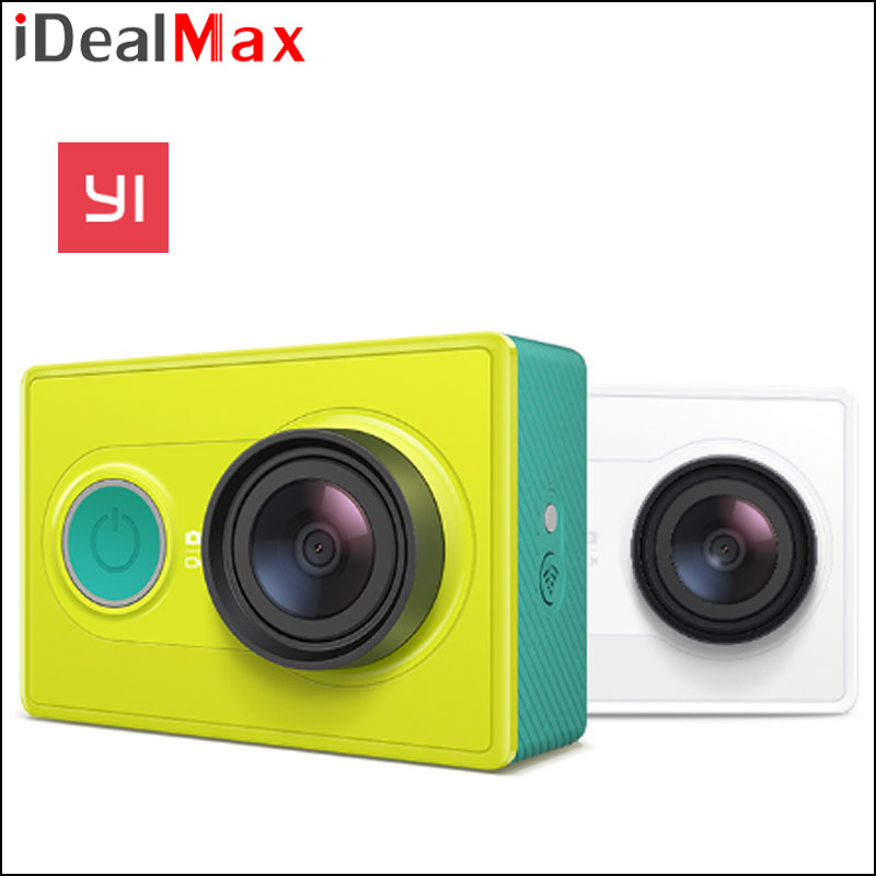 Original Xiaomi Yi Action Camera Xiao Yi WiFi Yi Xiaoyi Sport Camera 16MP 60FPS WIFI Ambarella Bluetooth Waterproof DV Cam