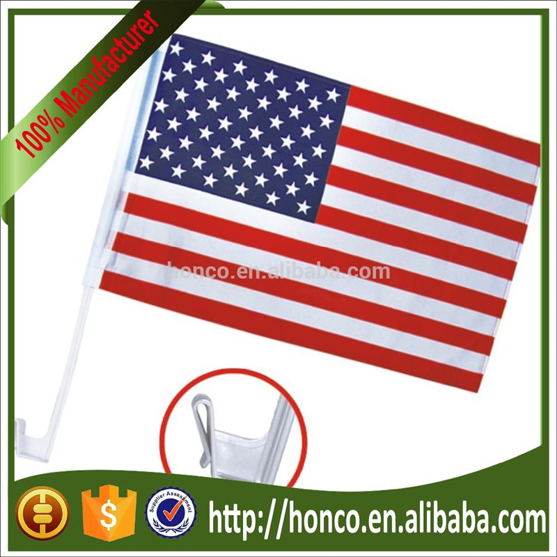 Hot selling difference country car flag