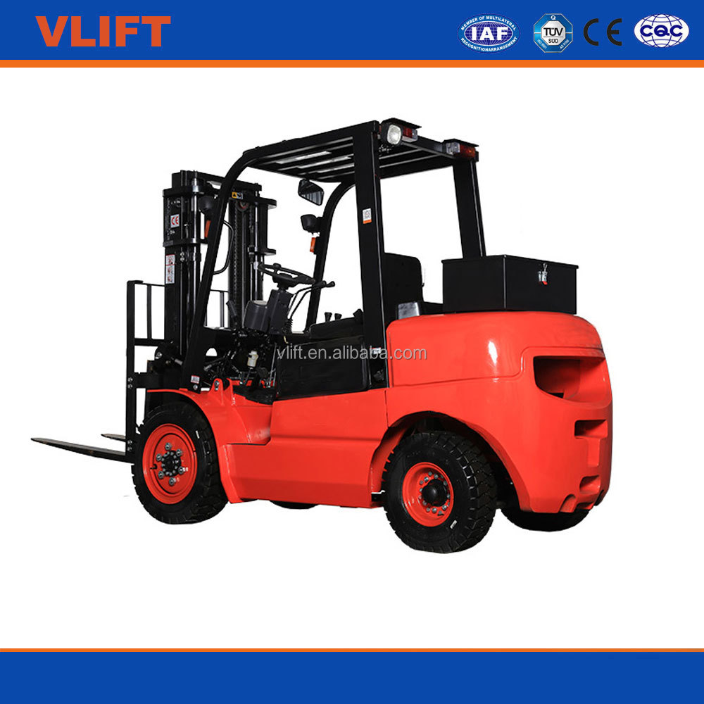 2 Ton 4.5 m Hydraulic Diesel Forklift Truck for good price
