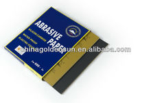 BP62 Electro coated silicon carbide waterproof abrasive paper and sandpaper