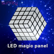 Good Quality 5 Channels Dmx512 Control Night Club Magic Stage Lamp Used Digital Led Panel Dance Floor For Sale