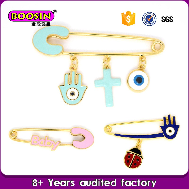 Accessories for women link brooch pin