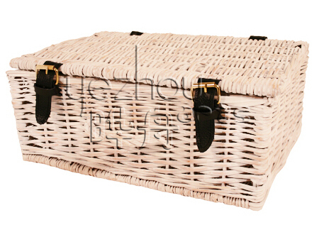 Wicker Hampers Empty Wicker Hamper with Handle