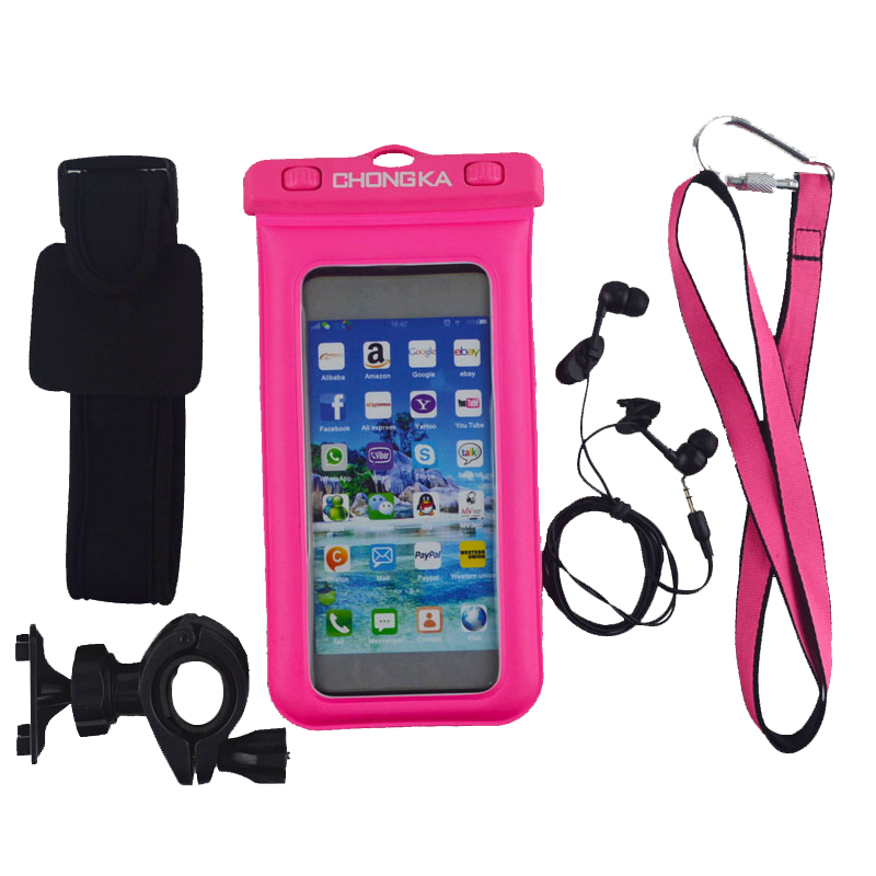 2017 Waterproof Cell Phone Pouch With Floating