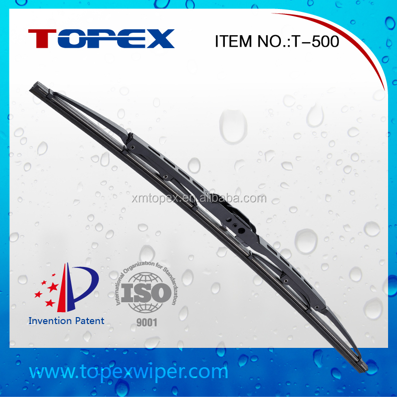 T-500 Wholesale Metal Wiper Blade Bosch Type Silicone Windshield Wipers