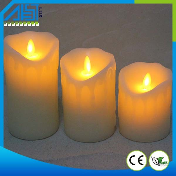 2015 top selling moving wick led candle flameless candle for Top selling candle fragrances
