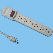 American extension power socket 6 outlets