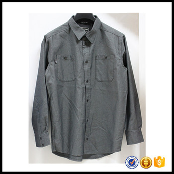 fashion button down 100%cotton latest shirt designs for men