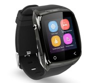 iradish i8 Silver Smart Wrist Bluetooth Watch Phone For IOS Android Samsung iPhone 6 6plus