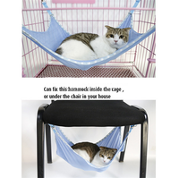 Summer Portable folding Breathable Mesh Cat Hammock Hang on Chair