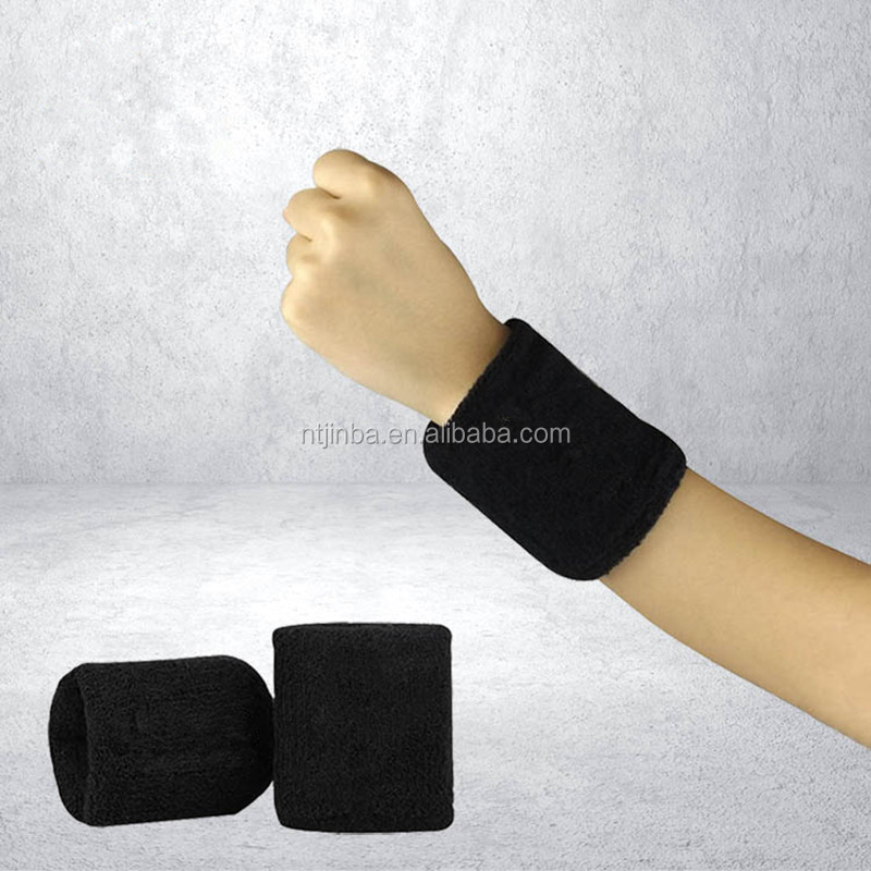 Hot Sell Fashion velcro wrist strap neoprene Basketball Badminton Tennis sweat towel weight wrist band
