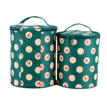 Wholesale Lovely Adore Cylinder Vintage Cosmetic Bags Cases