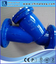 industrial y water tank butterfly valve strainer