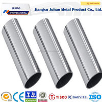 400G, 500G, 600G or 800G Mirror finish 304 stainless steel tube 50mm diameter