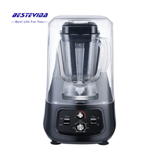Sound Proof 2L BPA Free PC Jar 2200W Professional Heavy Duty Manual Stick Beauty Ice Juice Fruit Pastry commercial Food Blender