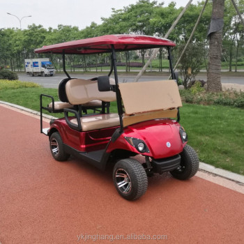 2+2 seats electric golf buggy with good prices and electric or gas power