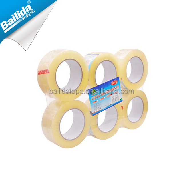 china wholesale oem cheap custom printed adhesive opp packing branded tape