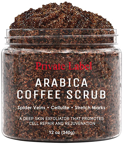2017 newest private label beauty product sugar Coffee Body Scrub