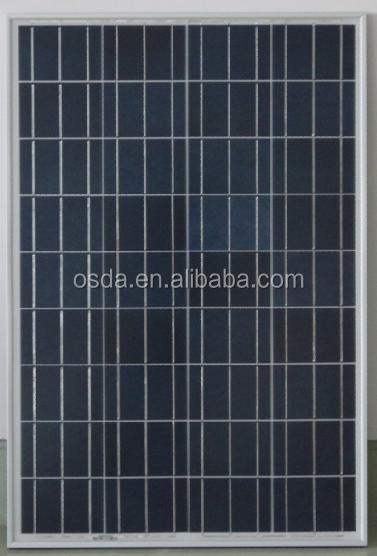 65W 18V polycrystalline Solar panel with TUV ISO SONCAP