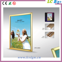 Promotional wooden photo frame LED light box
