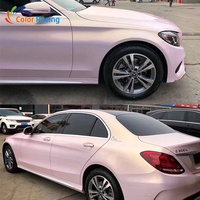 PVC vehicle vinyl wraps bright Magic color ultra gloss white car body sticker with best quality