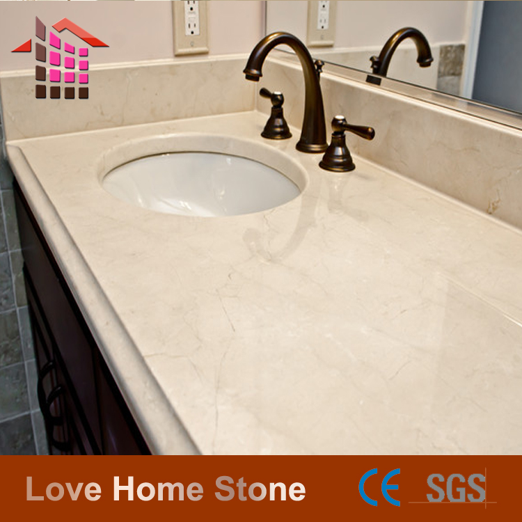 Cheap price floor tiles cream marfil marble