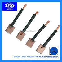 CBZ high copper content traction motor carbon brushes in autobike