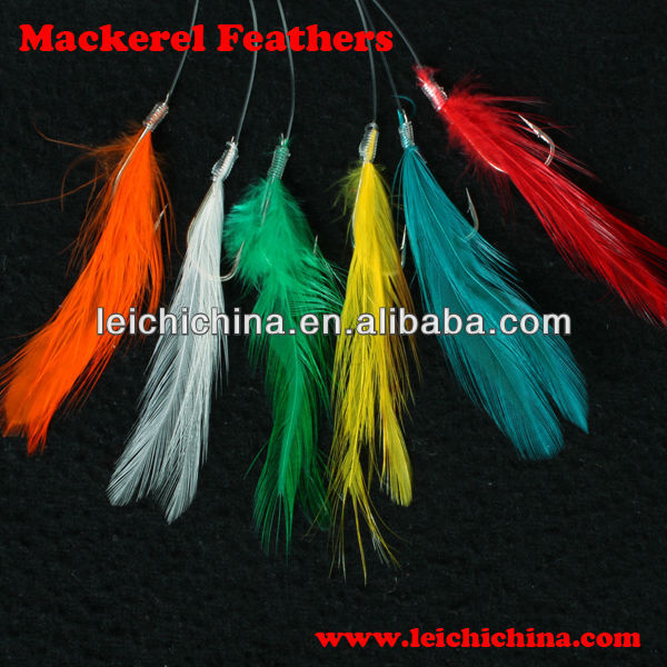 Mackerel Feathers fishing sabiki rigs sea fishing rigs
