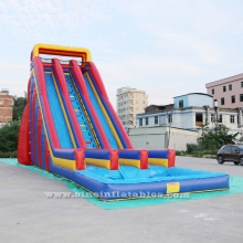 10m high commercial giant inflatable water slide for adults for sale made of best pvc tarpaulin