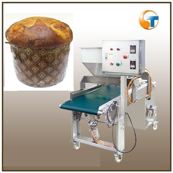 competitive price mini panettone cake making/filling machine