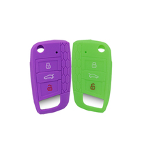 shenzhen factory cheap price car key covers silicone auto key case for Volkswagen Golf 7