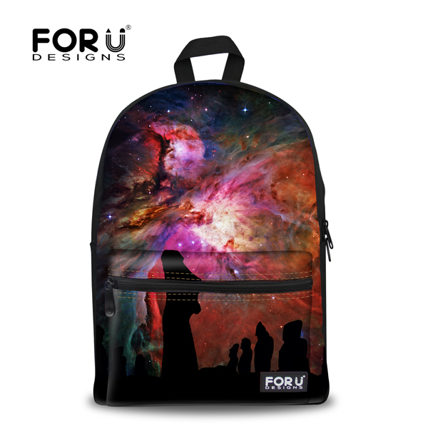 Brand Design 3D Galaxy Print Space School Backpack For Girls Teenager Backpack For Kids Casual Children Women Travel Rucksack